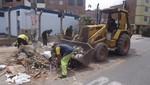 Municipalidad de Lima realizó operativo de limpieza en Palomino