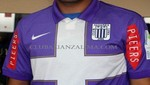 Alianza Lima presentó su camiseta morada