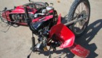 Joven muere en accidente de moto