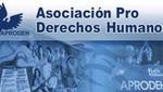APRODEH presentará informe sobre agresiones a líderes sociales