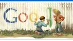 'Doodle de Google le rinde homenaje a Mark Twain