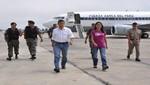 Presidente Ollanta Humala visita Ica tras fuerte sismo