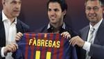 Cesc Fábregas: 'Barcelona es el llamado a ser el mejor equipo de la historia'