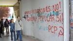 Pintas terroristas incitan levantamiento de armas en Chiclayo