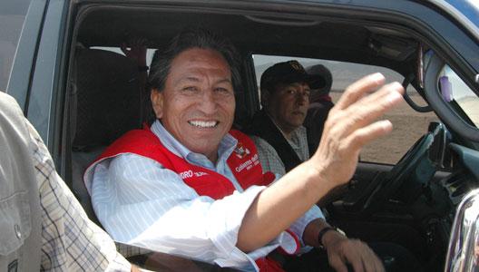 ALEJANDRO TOLEDO Y LOURDES FLORES