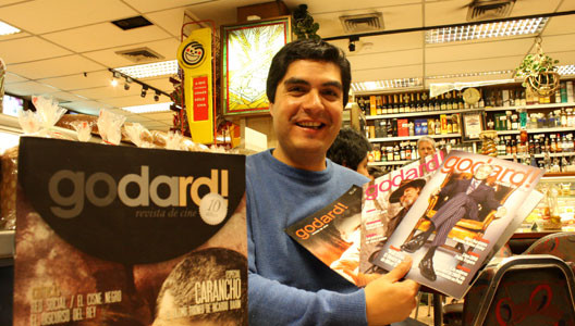 Revista peruana de cine Godard! cumple 10 años
