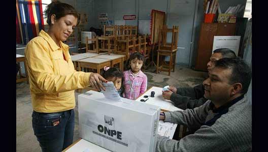 ELECCIONES EN EL VRAE