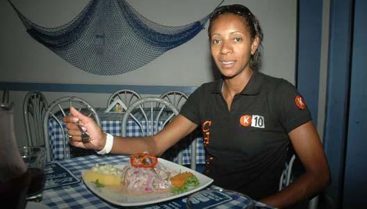 Leyla Chihuán y su pasión por la comida