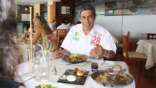 Fernando Acosta: 'El lomo saltado es mi plato favorito'