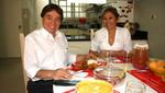 César Zumaeta: Es mi esposa quien cocina