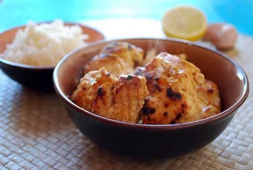 Pollo a la masala