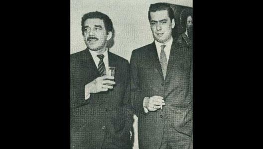 Mario Vargas Llosa, García Márquez y Borges