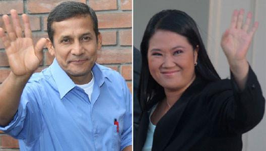 Segunda vuelta: Humala - Fujimori