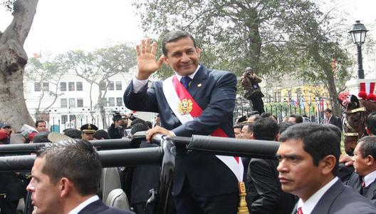Ollanta Humala y los gestos que causan preocupación