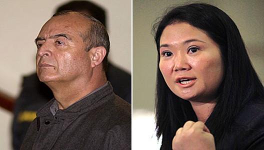 Vladimiro Montesinos y Keiko Fujimori