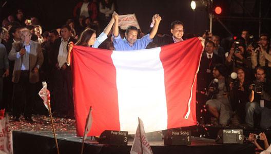 Ollanta Humala en el escenario regional