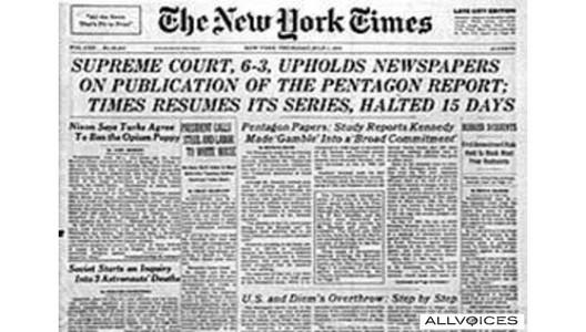 Papeles del Pentágono 40 años después