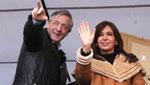 Kirchner, líder en tiempo de crisis