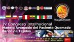 IV Congreso Internacional de Manejo Avanzado del Paciente Quemado y Banco de Tejidos