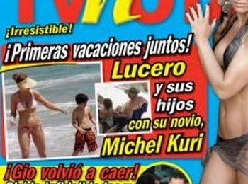 Lucero de vacaciones a Acapulco con su nuevo amor
