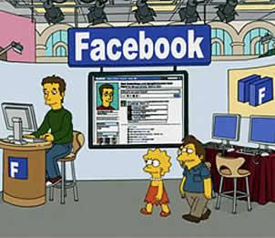 Mark Zuckerberg aparece en capítulo de Los Simpsons