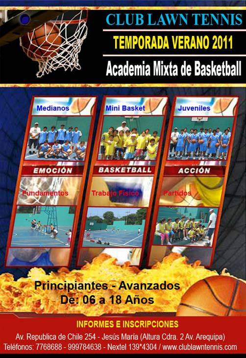 Academia de basketball