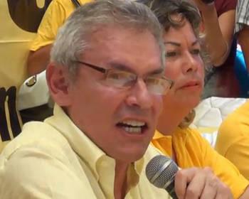 Castañeda en segunda vuelta le gana a Toledo y a Fujimori
