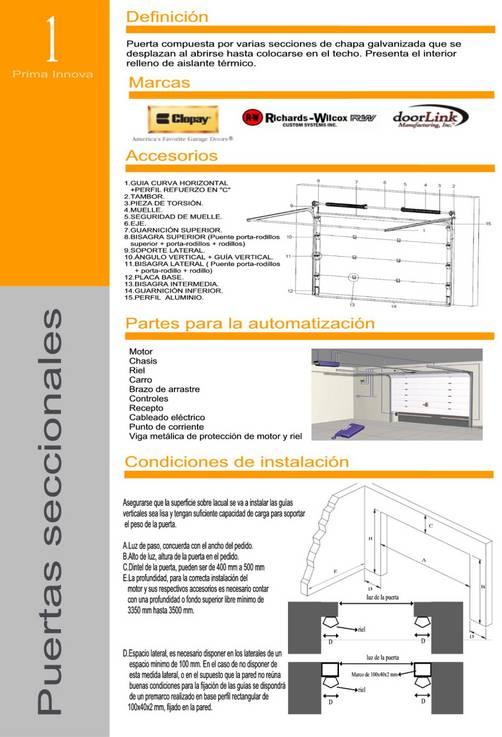 Puertas seccionales de garaje en lima per for Precio de puertas levadizas en lima peru