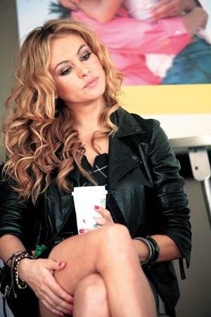 Paulina Rubio no está atravesando por un momento de depresión