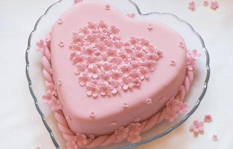 San Valentin: Pastel para el día de los enamorados