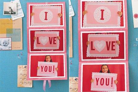 Tarjetas creativas de amor hechas a mano - Imagui
