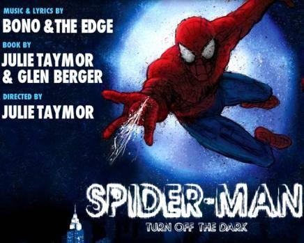 Bono y The Edge de U2 debutan en Broadway con el musical de Spiderman