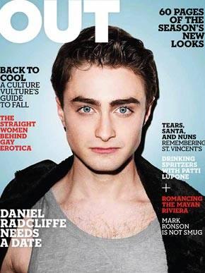 Daniel Radcliffe posa para revista gay