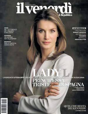 Doña Letizia Ortiz comparada con Lady Di