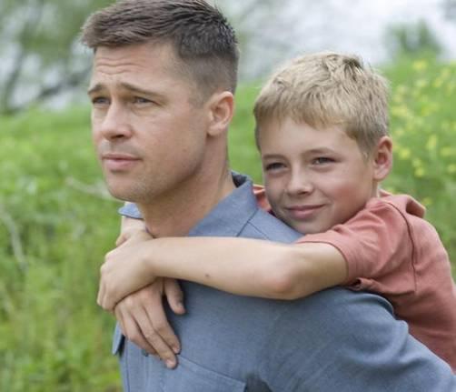 Brad Pitt en póster de su nuevo filme