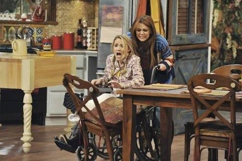 Miley Cyrus en el nuevo episodio de Hannah Montana Forever
