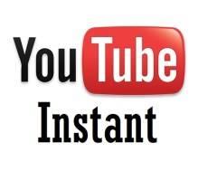YouTube Instant y más cosas instantáneas