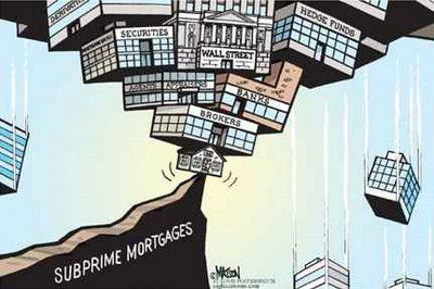 Todo el sistema pende de un hilo por las hipotecas subprime