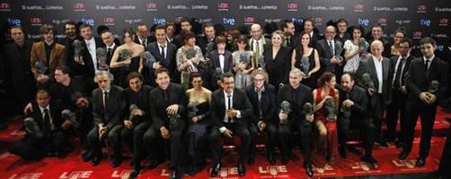 Lista de ganadores de los Premios Goya