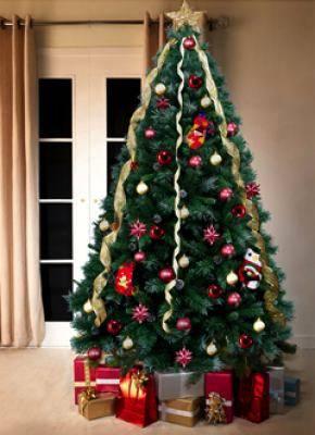 Decorando el rbol de navidad - Como adornar un arbol de navidad blanco ...