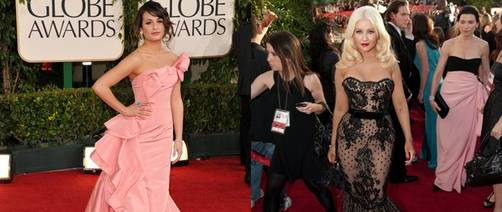 Globos de Oro 2011: Christina Aguilera y Lea Michele entre las peor vestidas