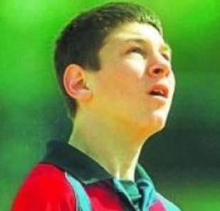 Lionel Messi cumple diez años en el Barcelona FC