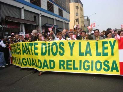 ¿HAY LIBERTAD DE RELIGIÓN EN EL PERÚ?