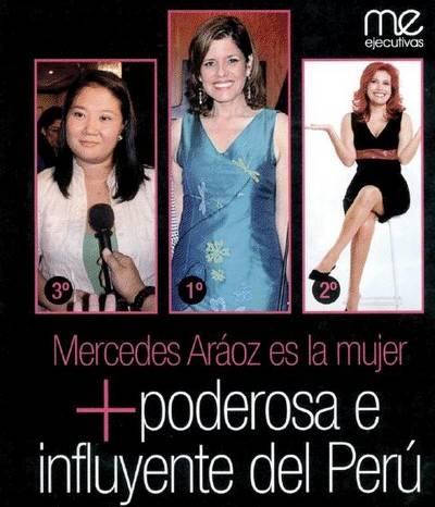 Las mujeres más influyentes en el Perú