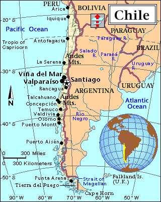 Chile: Geopolítica