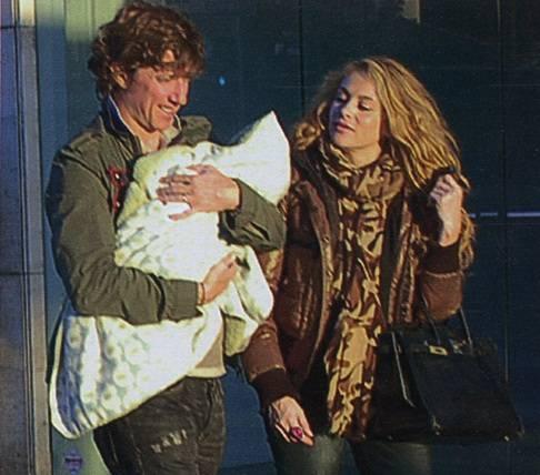 Paulina Rubio y Nicolás Vallejo-Nágera más felices que nunca con su bebé
