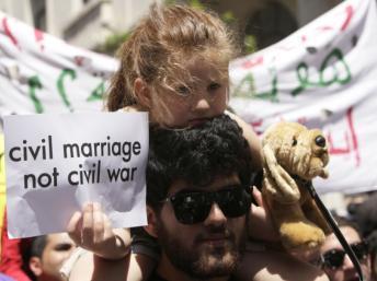 Libano: Manifestación por la laicidad