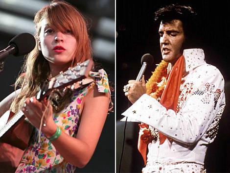 Russian Red canta con Elvis Presley