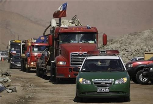 El rescate a los mineros de Chile cuesta 10 millones de dólares