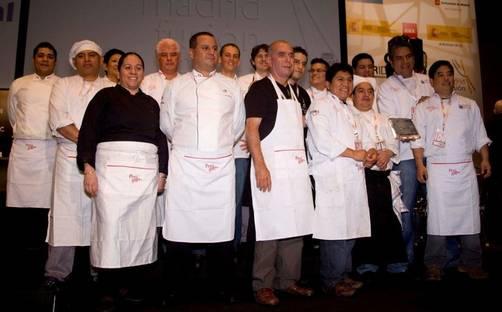 El equipo de chefs peruanos en madrid fusi n 2011 for Equipo para chef